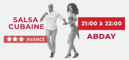 Cours Salsa Cubaine Avancé à Draguignan