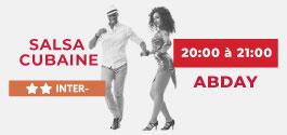 Cours Salsa Cubaine Intermédiaire à Draguignan