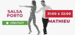 Cours Salsa Porto Débutant à Draguignan
