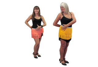 Danses Latines en ligne solo